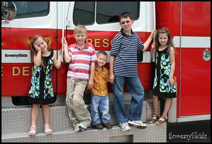 kids firetruck