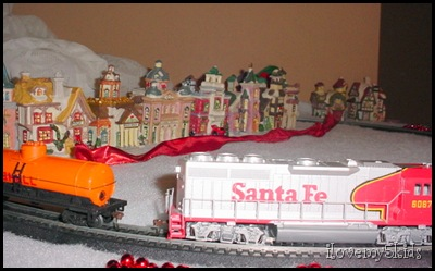 Christmas Train and Village