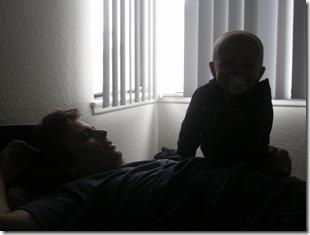 Waking up Dad