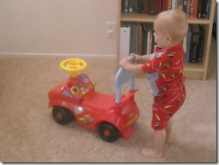 Lightening McQueen Jammies