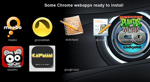 Chrome WebApps