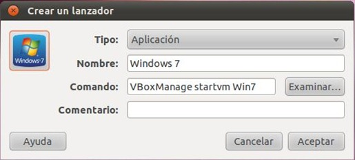 Win7 Shortcut VBox