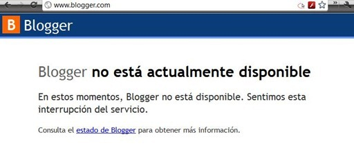 Blogger-no-está-actualmente-disponible