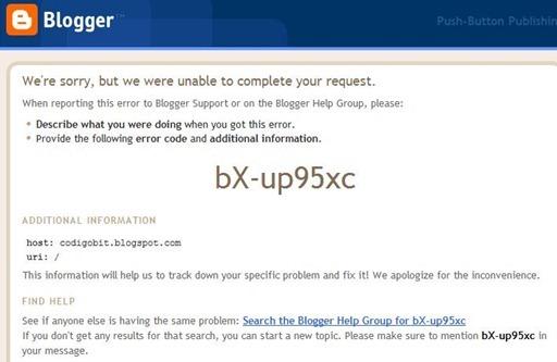 blogspot-error