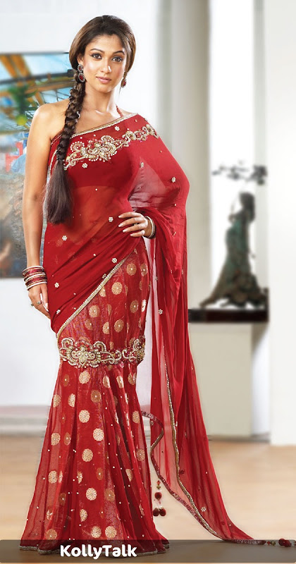 Nayantara Pothys Designer Sarees Stills and Video1