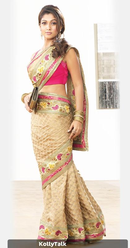 Nayantara Pothys Designer Sarees Stills