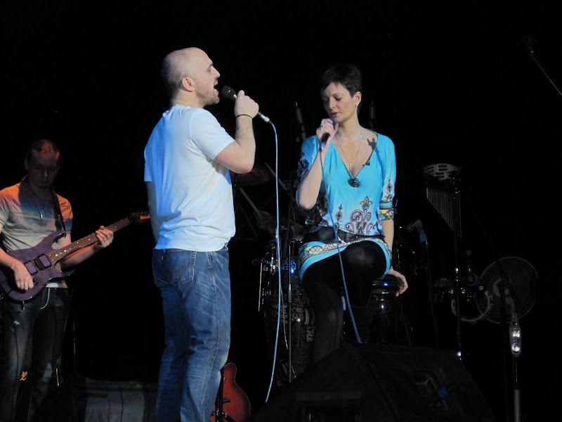 Александр Шоуа и Виктория Талышинская
