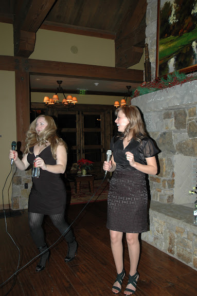 Erin and Andrea bustin moves