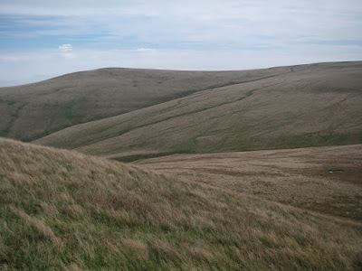 Brae Fell seen from side of Longlands Fell