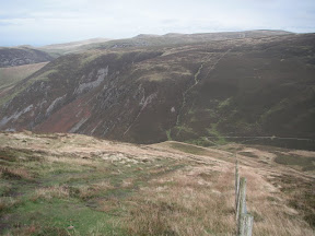 Route down from Bakestall