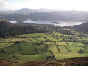 Derwent Water from Barrow