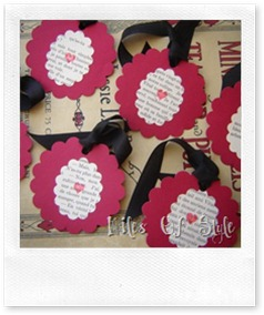 Vintage Cookie Tags