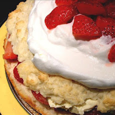 Simply Sensational Low Fat Strawberry Shortcake