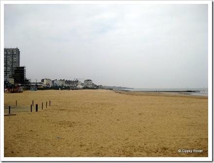 Miles of lovely beach.