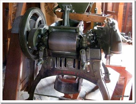 More modern milling machine.