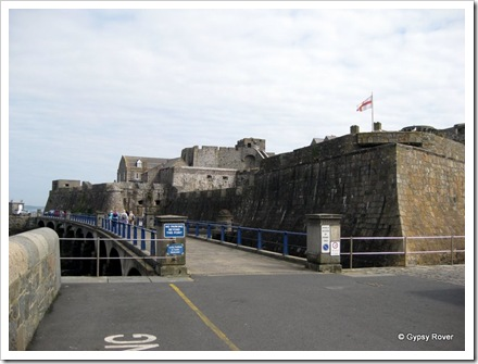 Castle Cornet built to protect  the entrance to St Peter Port.