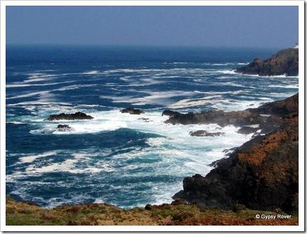 Wild Cornish coastline.