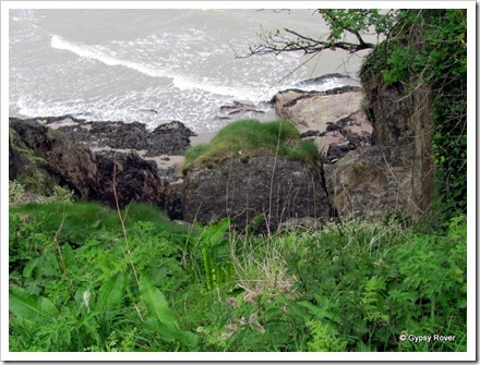 You need to be careful around these clifftops.