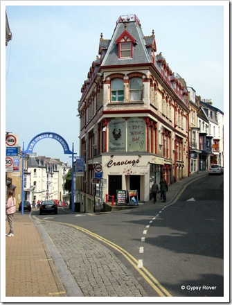 The oldest street in Ilfracombe.