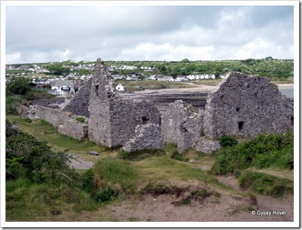 The 16th C Salthouse, Port Eynon. The original owner made money through Piracy to pay for it.