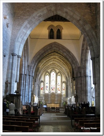 Brecon Cathedral only gained this status in 1923 after a change of diocese