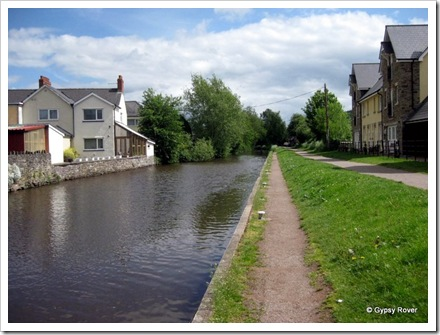 A good towpath from Brecon to Brynich.
