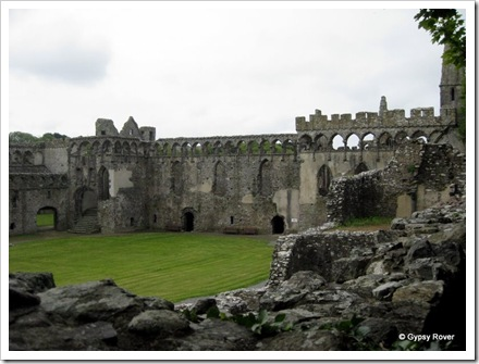 The Bishops Palace, St Davids built in the time of Bishop de Gower after who the peninsular is named.