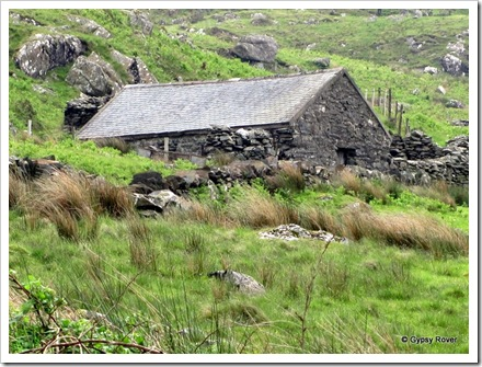 Stone Croft tucked away in the mountains.