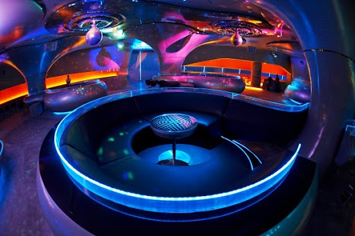 Sound club phuket rgb lighting for Outer space interior design