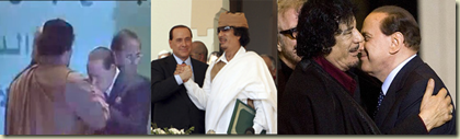 Gaddafi-Burlesconi