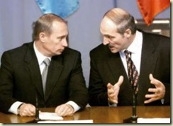 Putin and Lukashenko