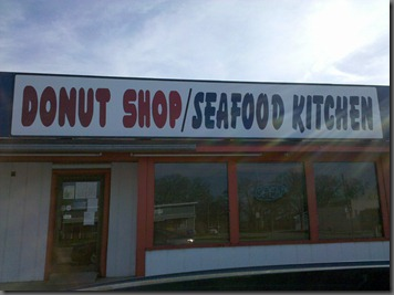 Donut Shop AND Seafood Kitchen?