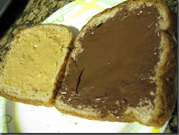 pb&n sandwich