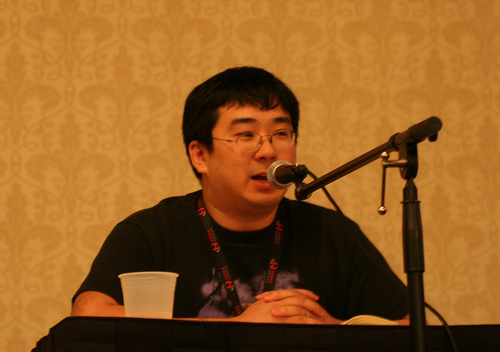 Lawrence at Anime Punch 2008
