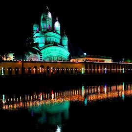 Reflection of power of devine by Santanu Dutta - Buildings & Architecture Public & Historical