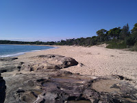 The beach at Bundeena