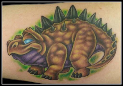 Earl Funk Trinity Tattoo Dinosaur