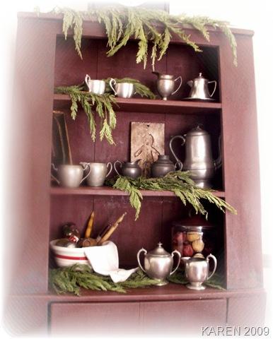 Pewter Cupboard 1