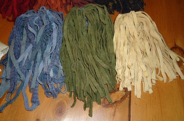 Wool Strips 4