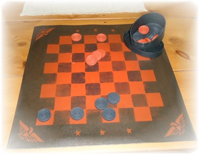 Checkerboard (floorcloth style)