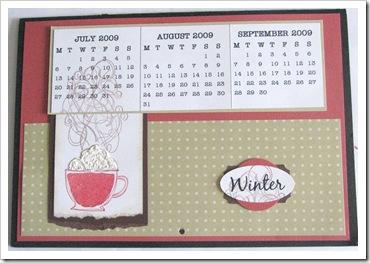 winter calendar