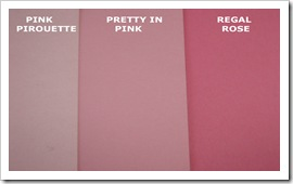 PINK PIROUETTE COMPARISON