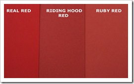 RIDING RED HOOD COMPARISON