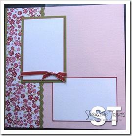 Pink Pirouette Scrapbook 1
