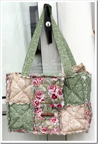 scallop rag bag