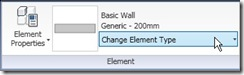 change element type