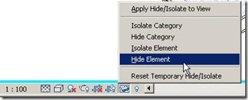 hide element