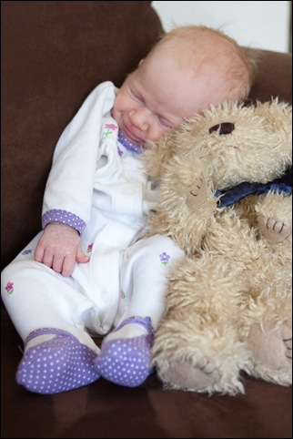 Sara 1 month teddy bear-1 Final