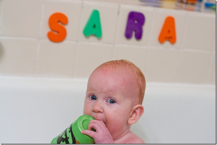 Sara in the bathtub-1 blog