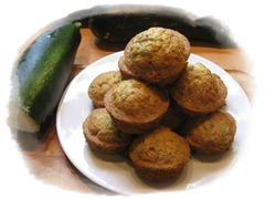 Zucchinni Muffins